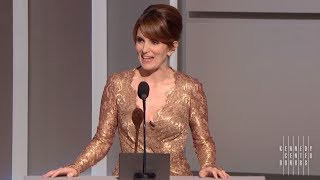 David Letterman Tribute - Tina Fey - 2012 Kennedy Center Honors