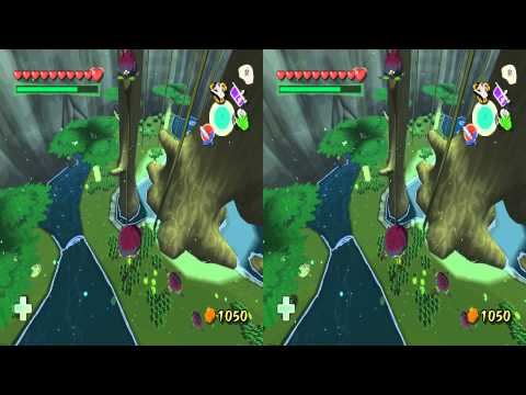 Dolphin Stereoscopic 3D Preview: The Legend of Zelda: The Wind Waker