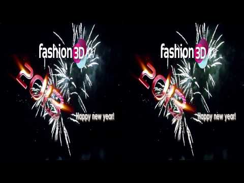 Fashion3Dtv 2013 - Happy New Year!