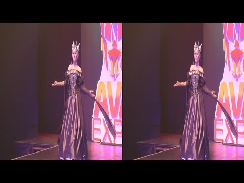 (3D) Cosplay Queen Ravenna (Snow White Huntsman) /HSBS 1080p/
