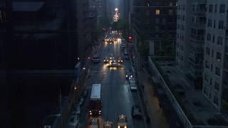 Royalty Free Footage--NYC Street Traffic Night B-Roll Part 5