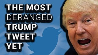 New Trump Tweets Are Most Unhinged of Presidency By Far