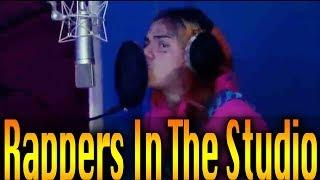 Rappers In The Studio Compilation (Part 2) 6ix9ine,Famous dex, rich the kid, playboi carti etc...