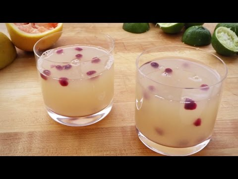 Drink Recipes - How to Make Grapefruit Margaritas