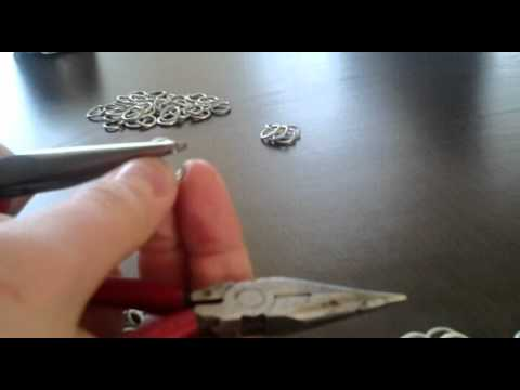 Jak zrobić kolczugę z drutu #2