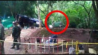 Il campo base di Mae Sai: bombole di ossigeno, cibo dei volontari e massaggi per i soccorritori