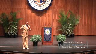Steve Harvey's First Motivational Speech Live