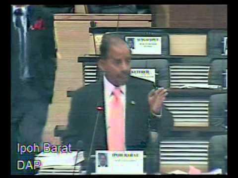 29 Nov 2012 - Pbhsn RUU Binatang (Pindaan) 2012 - DAP Ipoh Barat
