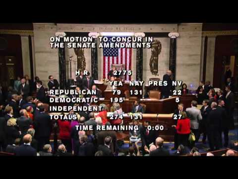 Thumbnail for Senate, House vote to end shutdown