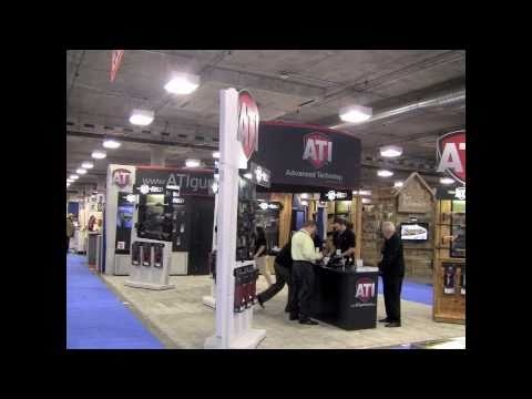 ATI 2011 Shot Show Booth Setup Time Lapse