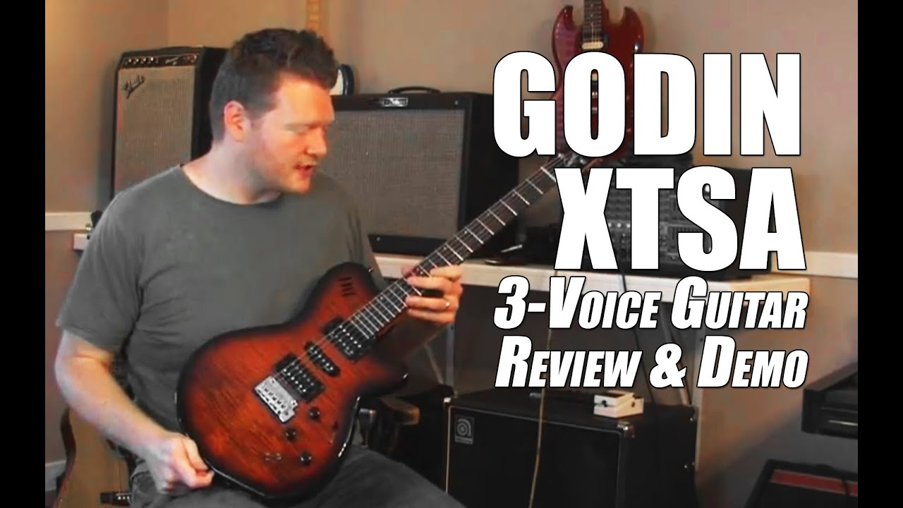 godin xtsa guitar review overview demo youtube. Black Bedroom Furniture Sets. Home Design Ideas