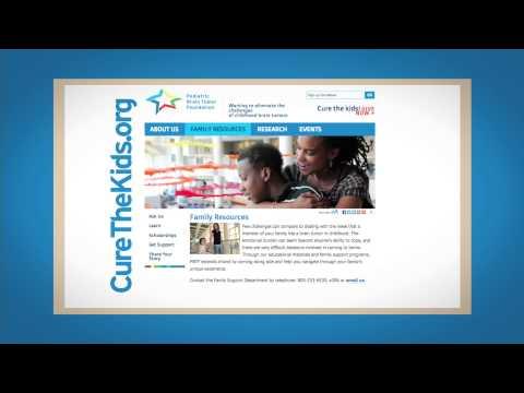 Pediatric Brain Tumor Foundation Motion Graphic Mission Video