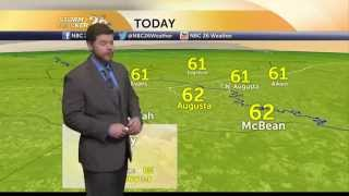 Augusta, GA weather forecast for Wednesday, 12/17/14