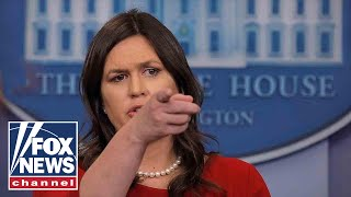 The media continues to launch its attacks on Sarah Sanders