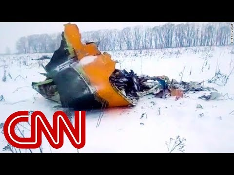 Russian passenger plane crashes outside Moscow