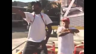 Chris Brown dancing nae nae