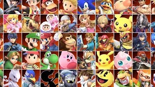 Super Smash Bros Ultimate - All Characters