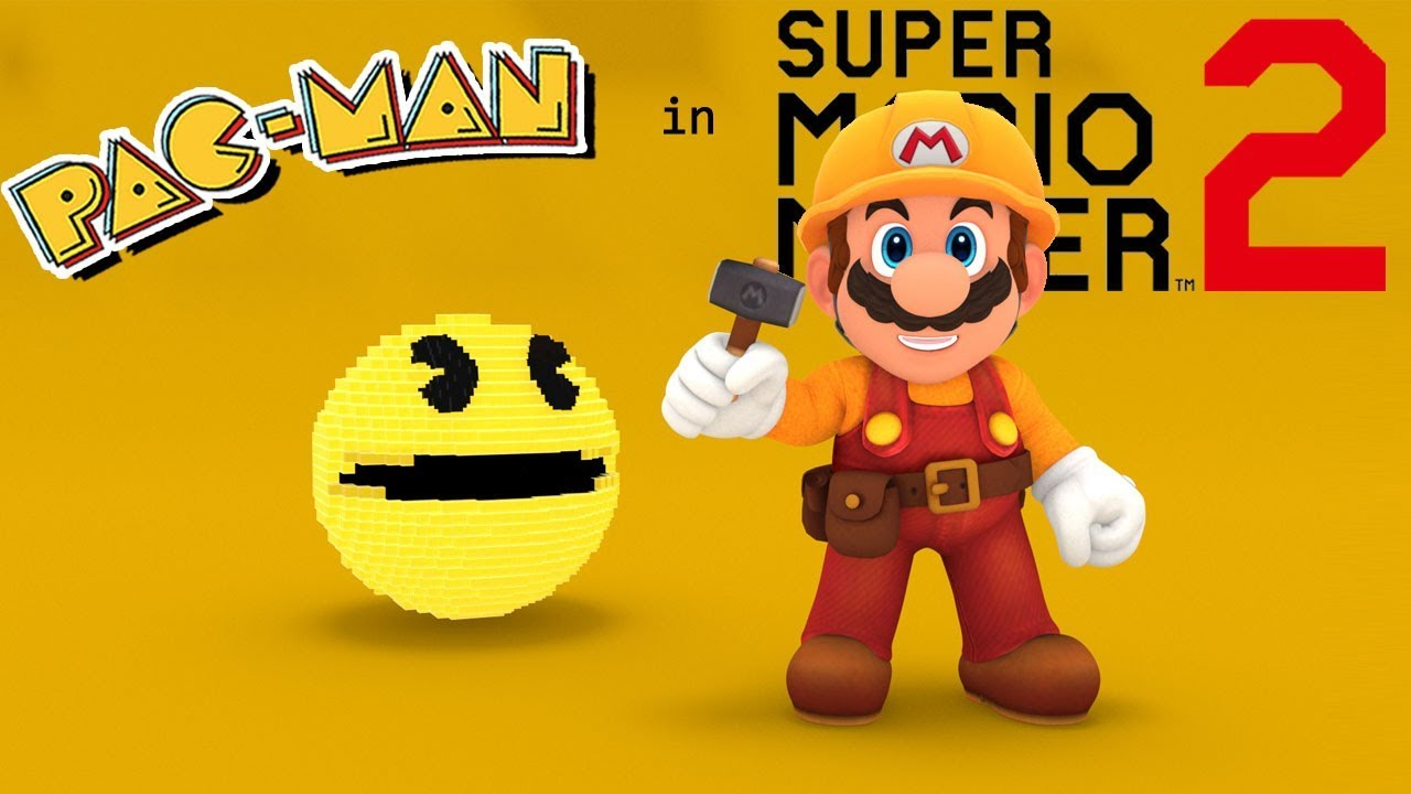 super+mario+maker+pac+man