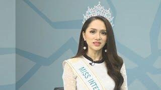 Hoa hậu Hương Giang giao lưu sau khi giành Hoa hậu Chuyển giới Quốc tế
