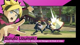 Naruto SUN Storm 4 - Road to Boruto Gameplay Trailer
