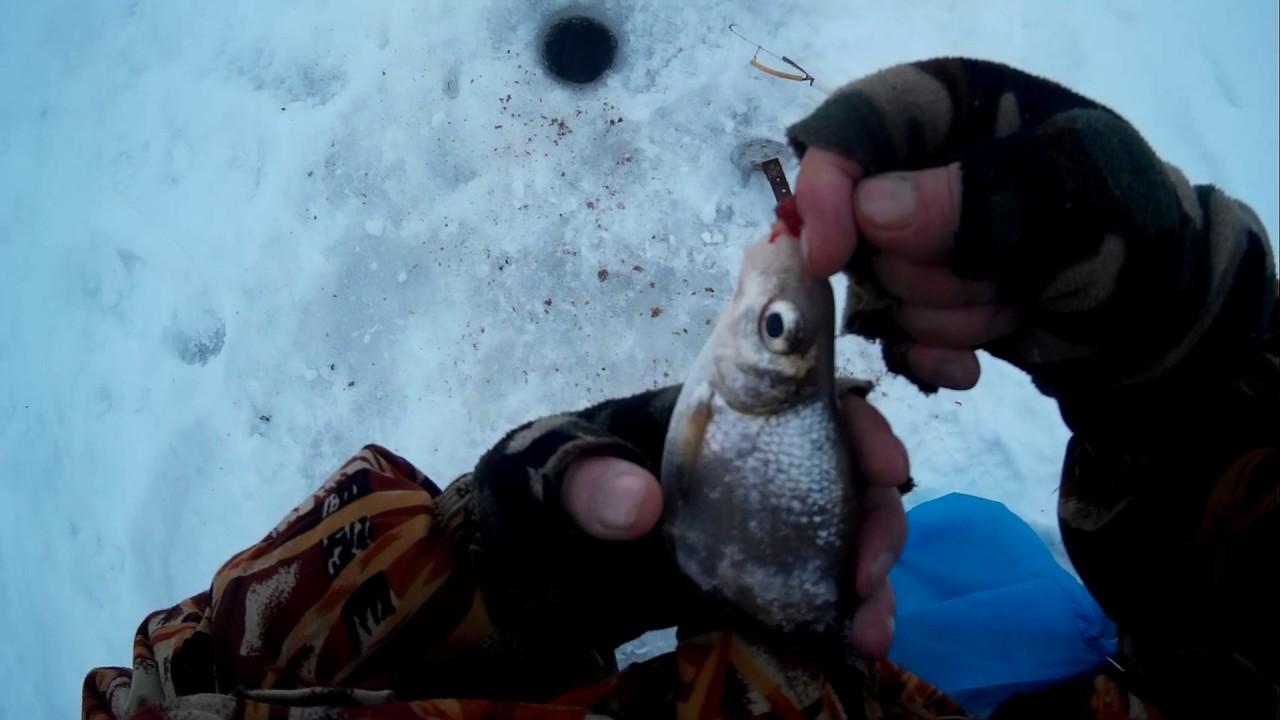 Зима ловля на подтяг