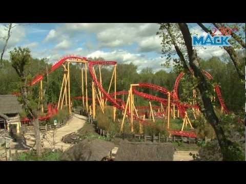 Le Twist, Spinning Coaster, Parc le Pal