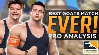 Overwatch: BEST Pro GOATS Match EVER! - Overwatch League Finals Analysis
