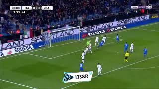 Matteo Politano Goal vs USA - HD   20th Nov 2018