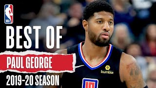 The Best Of Paul George | 2019-20 Season