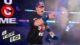 John Cena's most exciting returns: WWE Top 10, Jan. 5, 2019