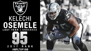 #95: Kelechi Osemele (OL, Raiders) | Top 100 Players of 2017 | NFL