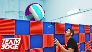 Blind VolleyBall Challenge!! 🏐