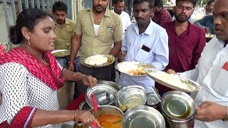 It's a Lunch time in Hyderabad | Delicious Meals Starts @ 20 rs | 100 Plates Finished an Hour
