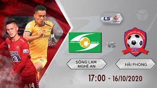 Review 🔴 Sông Lam Nghệ An - Hải Phòng | Vòng 2 Giai Đoạn 2, V-League 2020