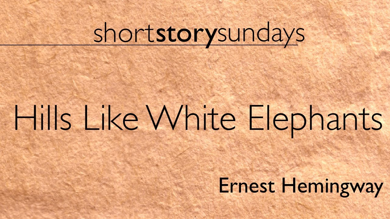 Essay/Term paper: The symbolism of the setting in 'hills like white elephants'