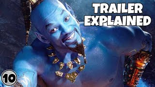 Disney's Aladdin Special Look Trailer Explained