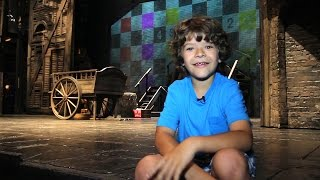 A Day With 11-Year-Old Les Misérables Star Gaten Matarazzo