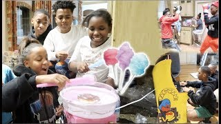 THE KID'S MADE COTTON CANDY & FUNNYMIKE BOXED TRAVIS!!