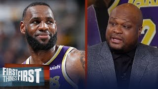 Antoine Walker is confident LeBron will lead the Lakers to the playoffs | NBA | FIRST THINGS FIRST