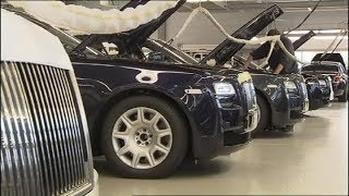 Так собирают Ваш  Rolls Royce. Assembling your car Rolls Royce