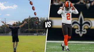 Making ALL the Field Goals that NFL Kickers Shanked....