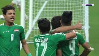 خليجي 24 - العراق 2 الإمارات 0 -