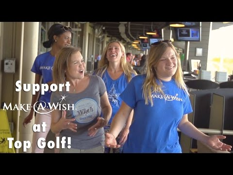 Support Make-A-Wish at Top Golf!