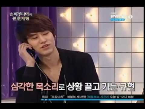 [ENG SUB] Kyuhyun called Changmin at foresight ep 13