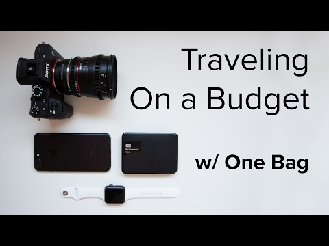 Traveling On A Budget   How To Travel Super Light With Only One Backpack