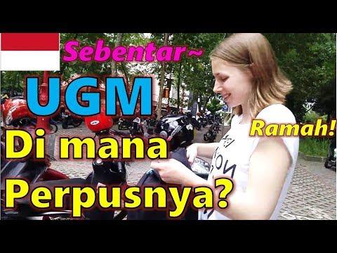 Orang Korea Kaget Lihat UGM(Universitas Gadjah Mada) Di Jogjakarta INDONESIA
