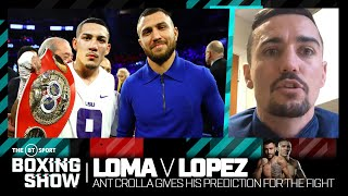 """""""He's going to try and humiliate him!"""" Ant Crolla gives his prediction for Loma v Lopez"""