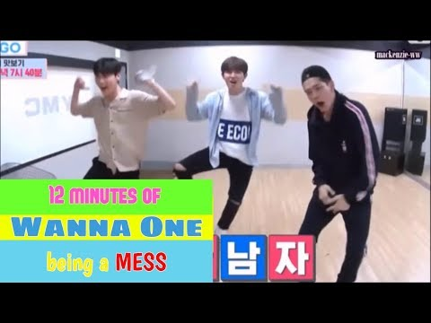 12 minutes of Wanna One being a MESS