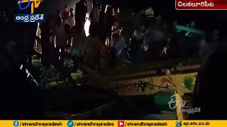 Mishap: Prabha falls down at Kotappakonda during Shivaratr..