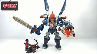 ghép bộ Lego Nexo Knights robot khổng lồ của nhà vua The King´s Mech bootleg toy for kids